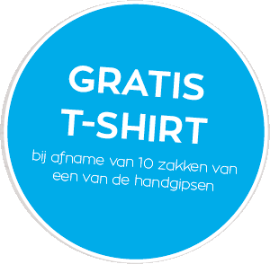gratis t-shirt handgipsen knauf