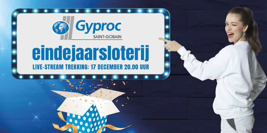 Gyproc eindejaarsloterij